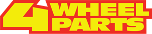 4 Wheel Parts Logo Vector