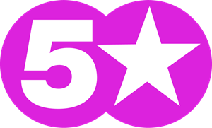5 Star Logo Vector