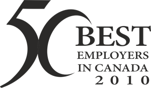 50 Best Employers In Canada Logo Vector