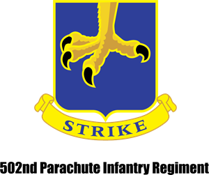 502nd Parachute Infantry Regiment Logo Vector