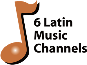 6 Latin Music Channels Logo Vector