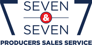 7 and 7 Producers' Sales Service Logo Vector