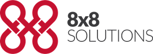 8×8 Solutions Logo Vector