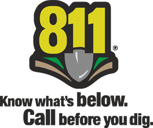 811 Know Whats Below Logo Vector