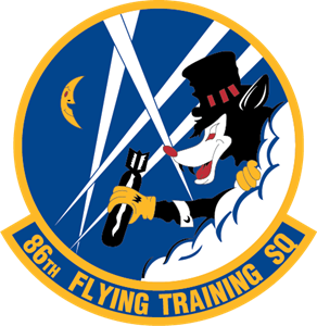 86th Flying Training SQ Logo Vector