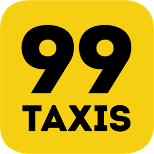 99 Taxis Logo Vector