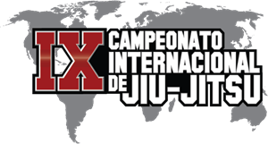 9th International Jiu-jitsu Championship Logo Vector