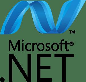 microsoft net logo vector ai free download