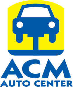 ACM Auto Center Logo Vector