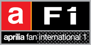AF1 Aprilia Fan International Logo Vector