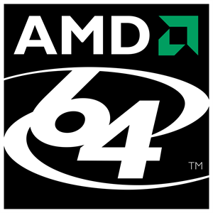 AMD 64 Logo Vector