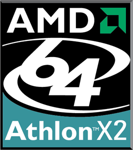 AMD 64 Athlon X2 Logo Vector