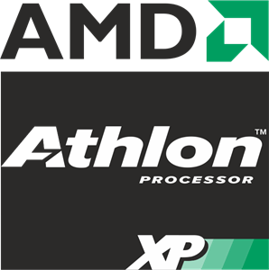 AMD Athlon XP Processor Logo Vector
