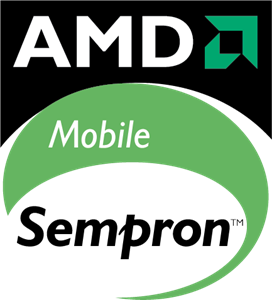 AMD Mobile Sempron Logo Vector