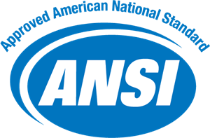 ANSI Approved American National Standard Logo Vector