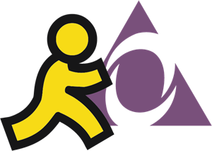 AOL Instant Messenger Logo Vector
