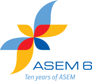ASEM 6 - 10 Years of ASEM Logo Vector