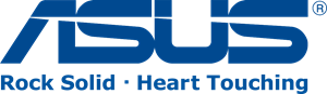 ASUS Rock solid - Heart touching Logo Vector