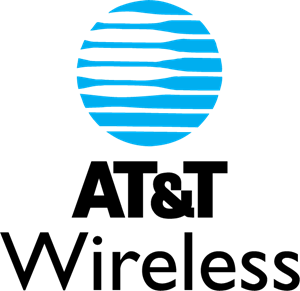 AT&T Wireless Logo Vector