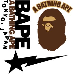 A Bathing Ape Logo Vector