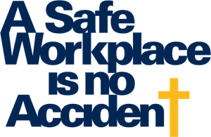 A Safe Workplace is no Accident Logo Vector