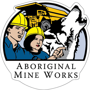 Aboriginal Mine Works Logo Vector