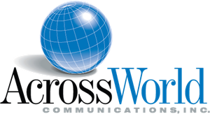 AcrossWorld Communications Logo Vector