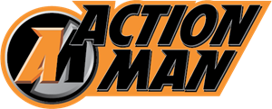 Action Man Logo Vector