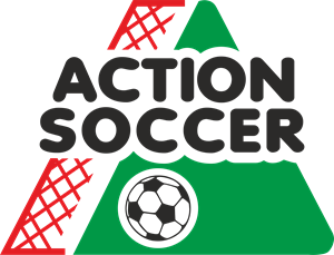 Action Soccer Logo Vector
