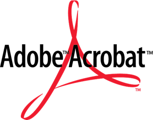 Adobe Reader Logo Adobe Acrobat Logo Vec...
