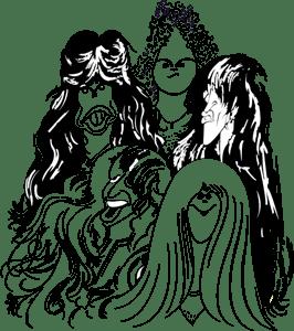Aerosmith Draw The Line Logo Vector Ai Free Download
