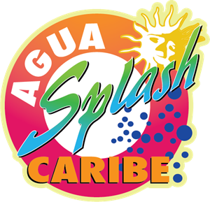 Agua Splash Caribe Logo Vector