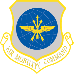 Air Mobility Command Logo Vector