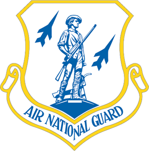 Air National Guard Logo Vector