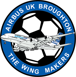 Airbus UK Broughton FC Logo Vector