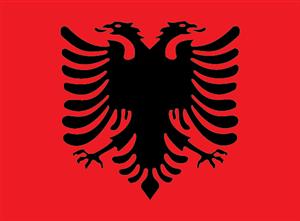 Albania Flag Logo