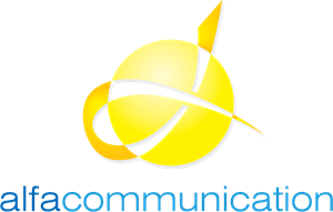Alfa Communication Logo Vector