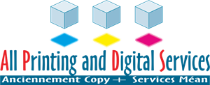 All Printing and Digital Services Logo Vector