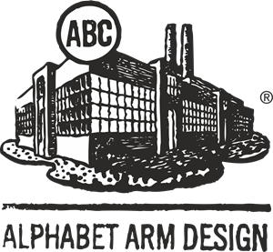 Alphabet Arm Design Logo Vector