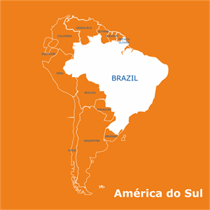 America do Sul Logo Vector