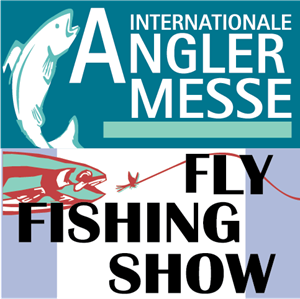 Angler Messe & Fly Fishing Show Logo Vector