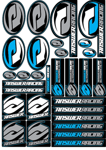 Answer Racing Logo Vector