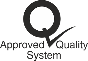 Approved Quality System Logo Vector