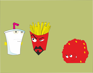 Aqua Teen Hunger Force Main Logo Vector