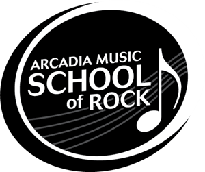 Arcadia Academy of Music School Logo Vector