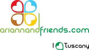 Arianna&Friends - Love Tuscany Logo Vector