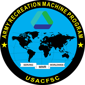 Army Recreation Machine Program Logo Vector