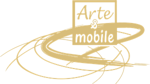 Arte & Mobile Logo Vector