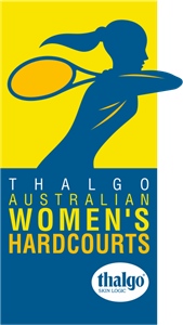 Australian Women's Hardcourts Logo Vector