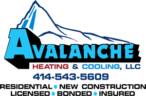 Avalanche Heating & Cooling Logo Vector